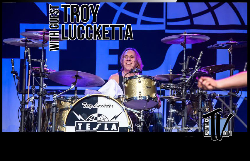 Troy Luccketta of Tesla–Talks Recording, Protools, Saville Row, and More! 2015